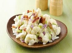 """Potato"" Cauliflower Salad- 4 Smart Points"