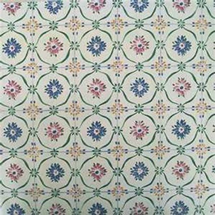 Portugal Floral Contact Paper