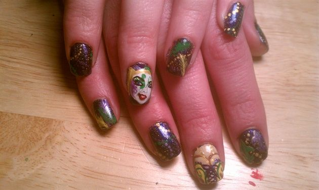 Magnificent Nails Art Design Youtube Tall Best Christmas Nail Art Clean Nail Art Design For Long Nails Nail Art Stickers Online Young Gossip Girl Nail Polish GreenNail Art Canes 1000  Images About Mardi Gras Nail Art On Pinterest