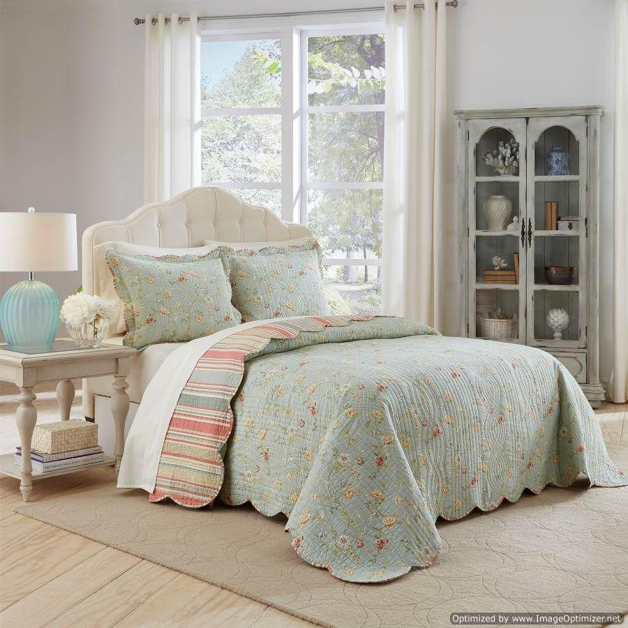 Home decorating company - Waverly Garden Glitz Bedspread Set Queen The Home Decorating Company Has The Best Sales