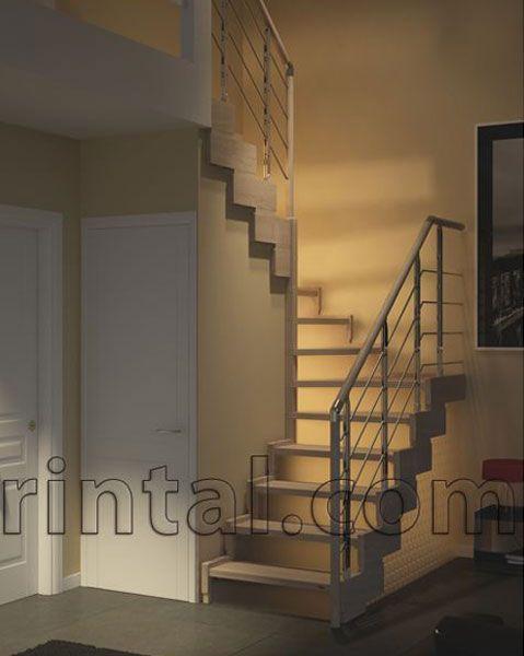 WOODEN OPEN STAIRCASE / MINI STAIRCASE PASSEPARTOUT | RINTAL