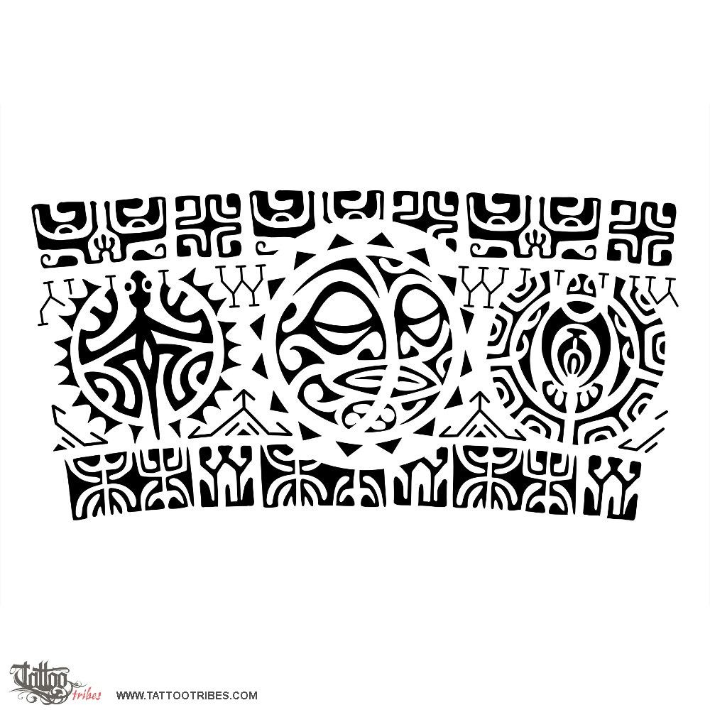 r marama sun moon this armband tattoo requested by paulo consists of two bolder bands. Black Bedroom Furniture Sets. Home Design Ideas