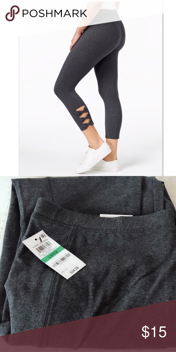 7f35a63c9644c comfortable and great 🖤 Style & Co Twisted Cutout Leggings, Created for  Macy's Style & Co gives its leggings to new look with this cropped pair  featuring ...