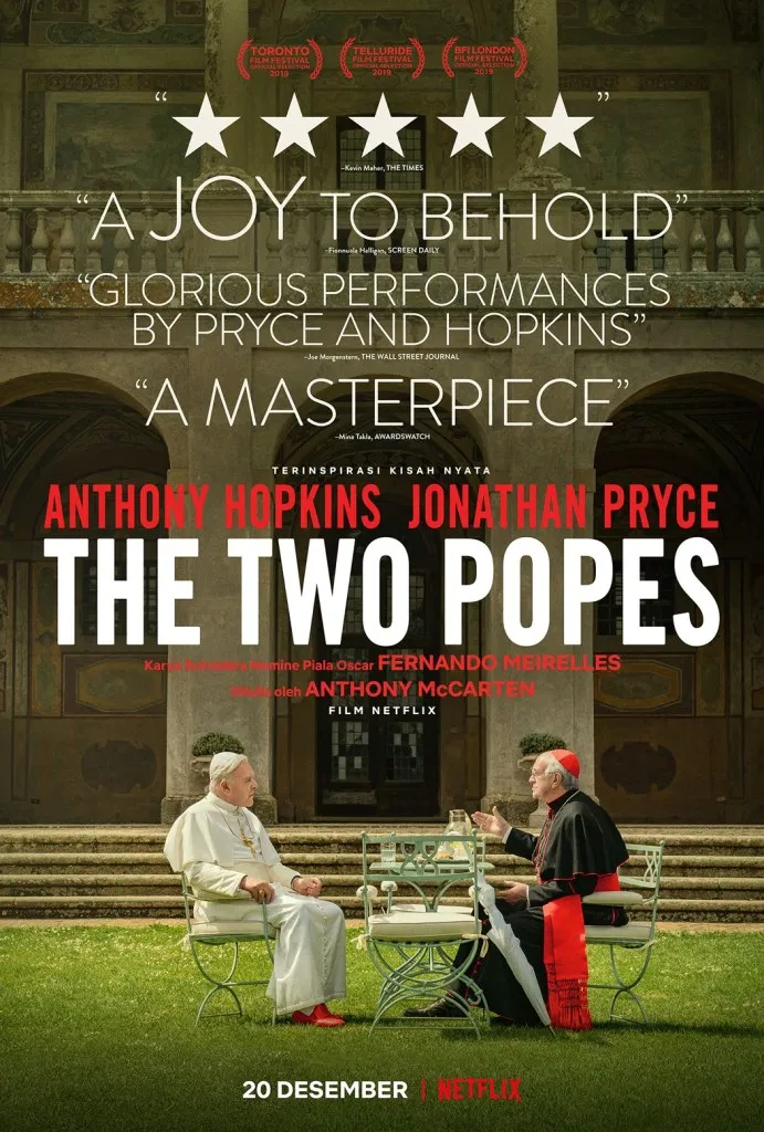 Anthony Hopkins Jonathan Pryce Are The Two Popes In Theaters