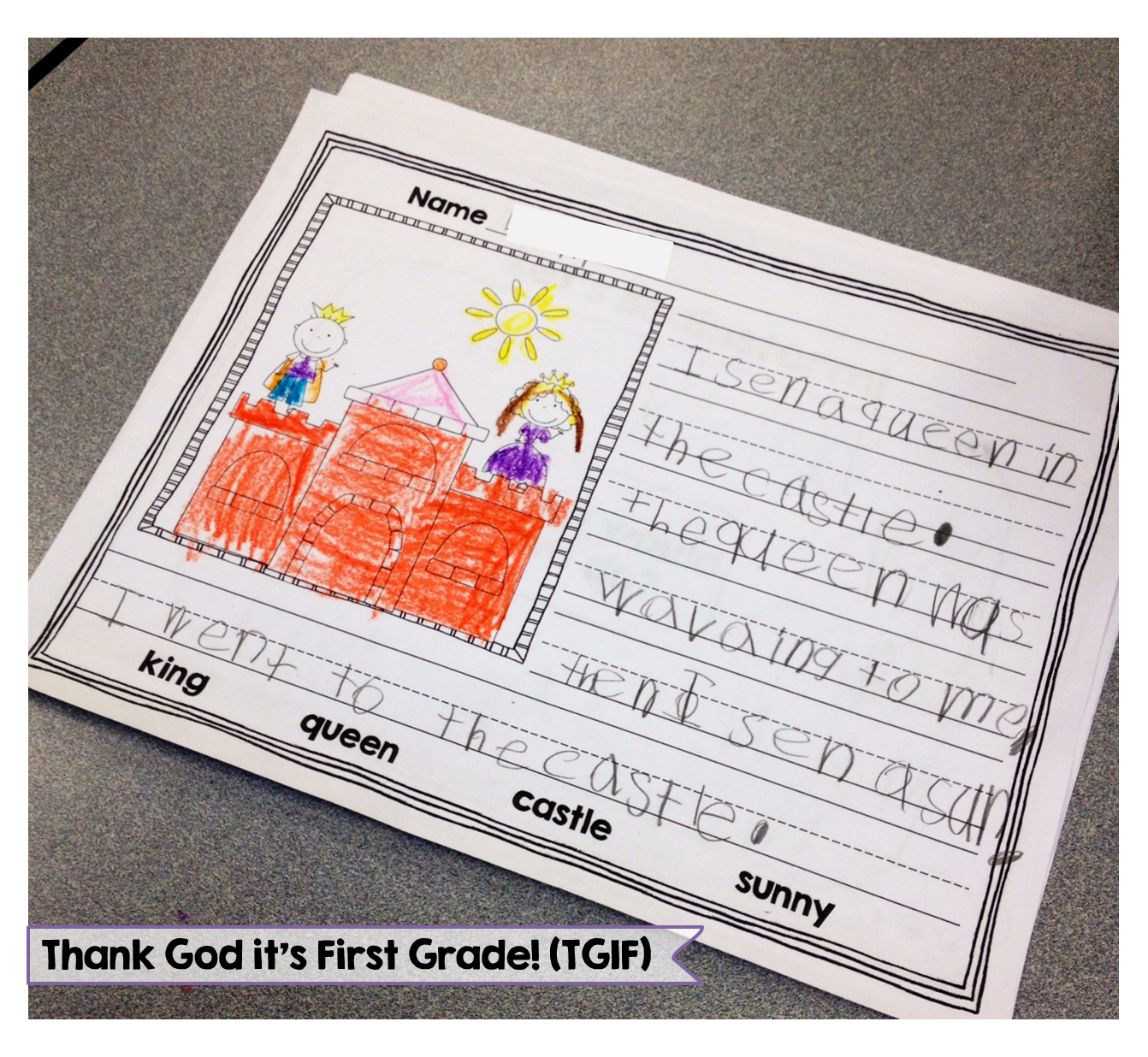 Workbooks story writing worksheets for grade 1 : Writing Activities for Kindergarten and First Grade - Write from ...