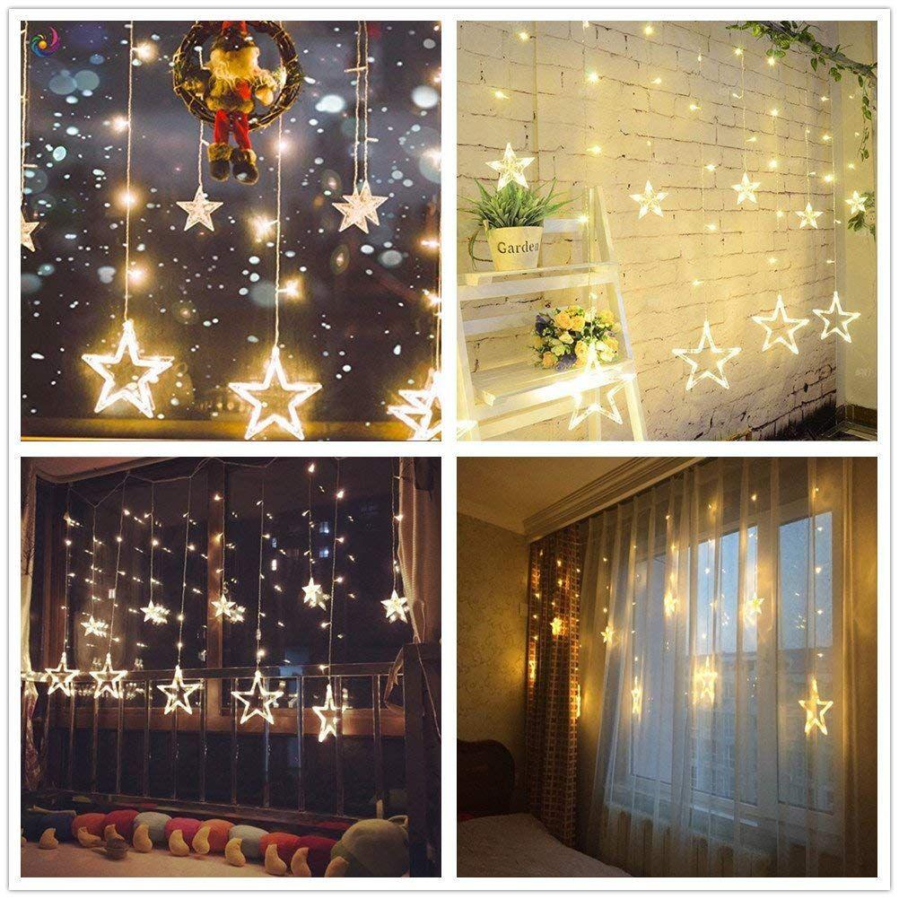 d167251cc9c SALCAR Cadena de Luces LED de Colores 2   1 Metros. Decorar tu hogar estas  navidades super fácil.  navidad  amazon  luces
