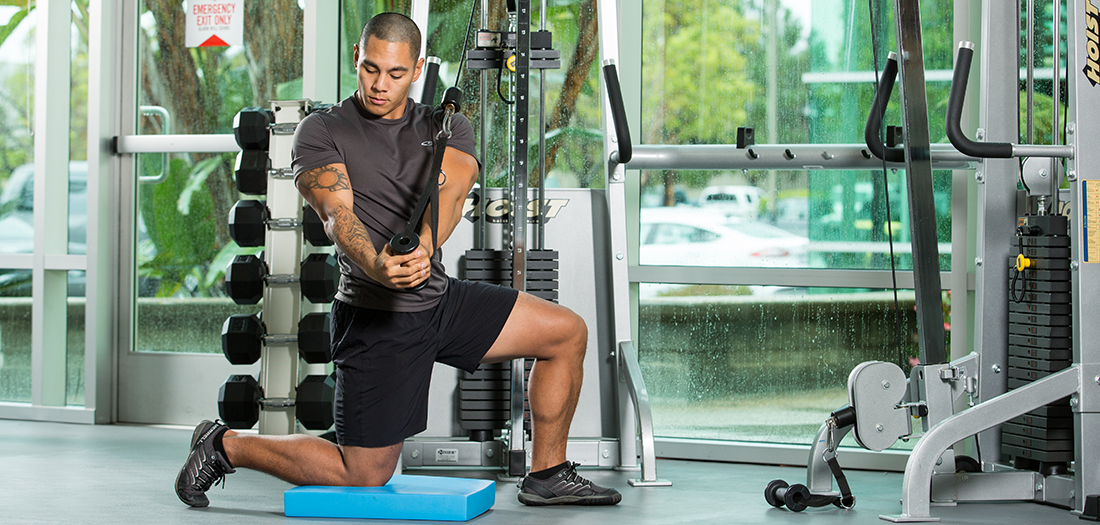 This Installment Of The One Weight Workout Series Focuses On The Highly Versatile Cable Machine Learn How Weights Workout Total Body Workout Workout Machines