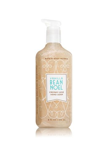 Vanilla Bean Noel Creamy Luxe Hand Soap Bath And Body Works