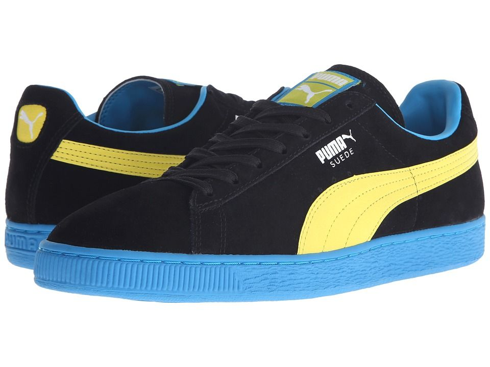 official photos 04c03 cf1db PUMA PUMA - SUEDE CLASSIC+ LFS (BLACK/BLAZING YELLOW/ATOMIC ...