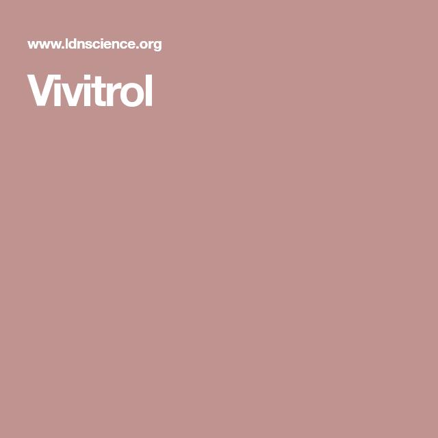 Vivitrol Low dose naltrexone, Health and nutrition