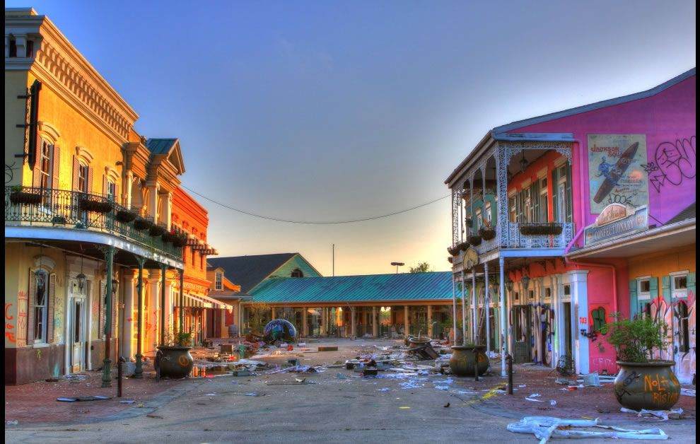 Best Six Flags New Orleans Ideas On Pinterest New Orleans - 10 years hurricane katrina six flags theme park new orleans still lies abandoned 10 years