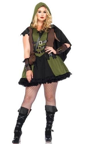 Darling Robin Hood Plus Size Costume Sexy Costumes Halloween