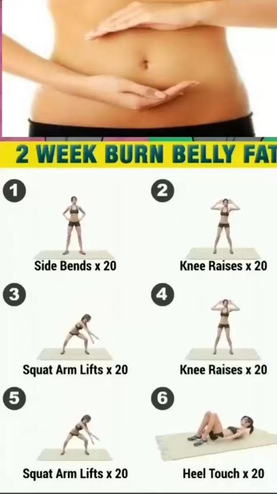 2 week burn belly fat