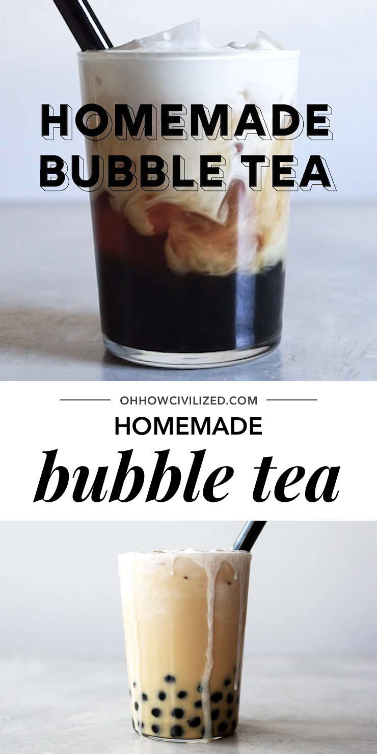 Photo of Best Homemade Bubble Tea