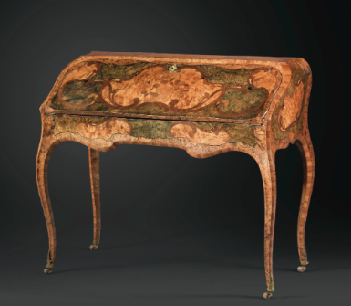 Louis Xv Period Desk By Grenoble Ebenistes Pierre 1705 76 And Jean Francois 1730 96 Hache In Bureau En Pente Form En Muebles Antiguos Mobiliario Muebles