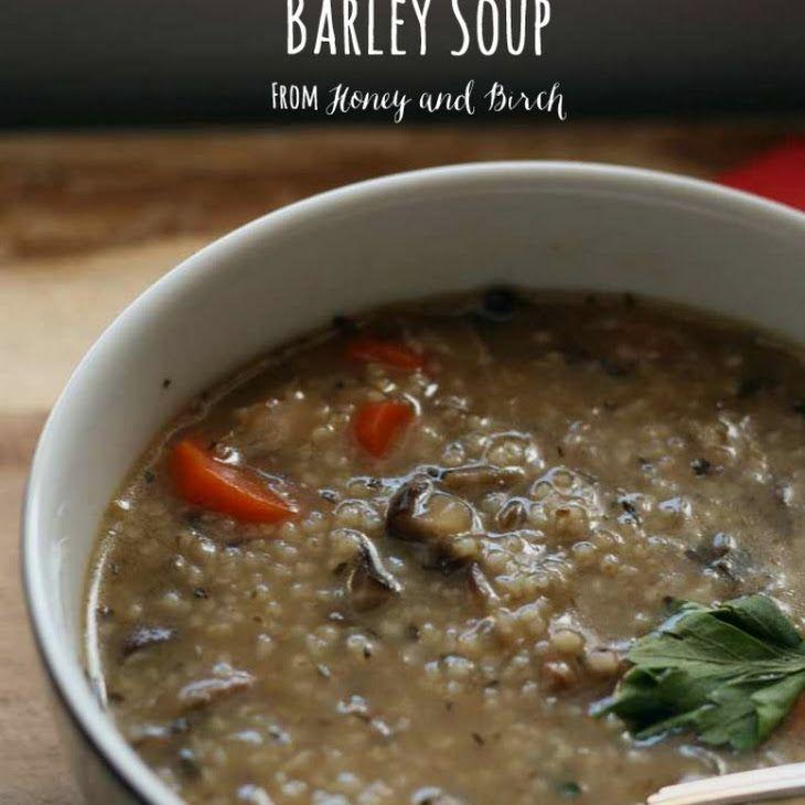 Mushroom Barley Soup Recipe Soups Soup Recipes Soup Mushroom Barley Soup