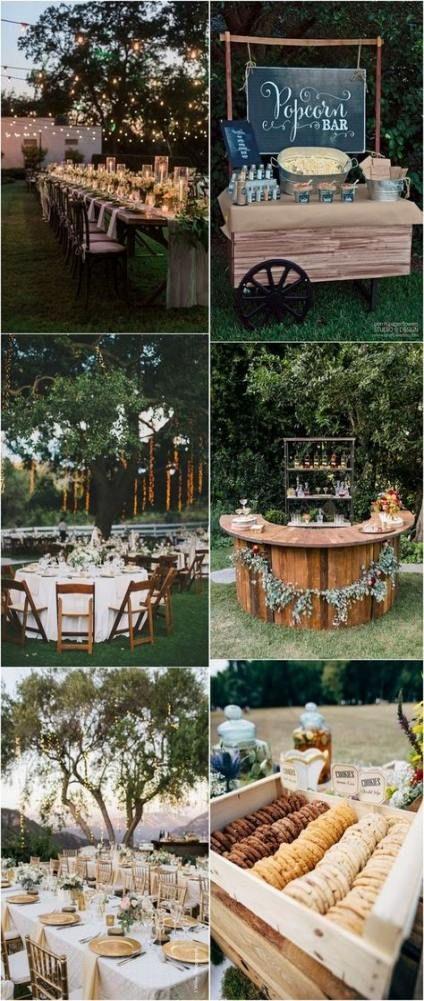 Backyard wedding diy rustic cute ideas 54+ ideas for 2019 ...