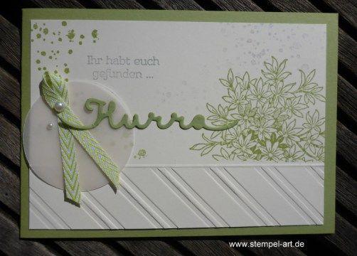 Hochzeitskarten Nach Stempelart Stampin Up Awesomely Artistic