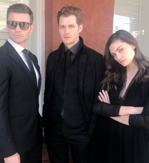 joseph morgan phoebe tonkin amp daniel gillies my loves