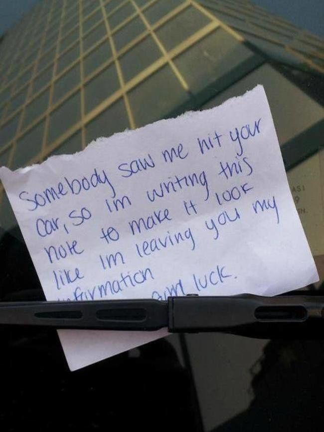 The 19 Funniest Notes And Potatoes Ever Left On Car Windshields