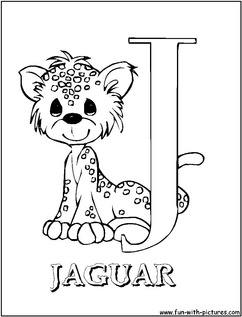 Letter J Coloring Pages Gallery