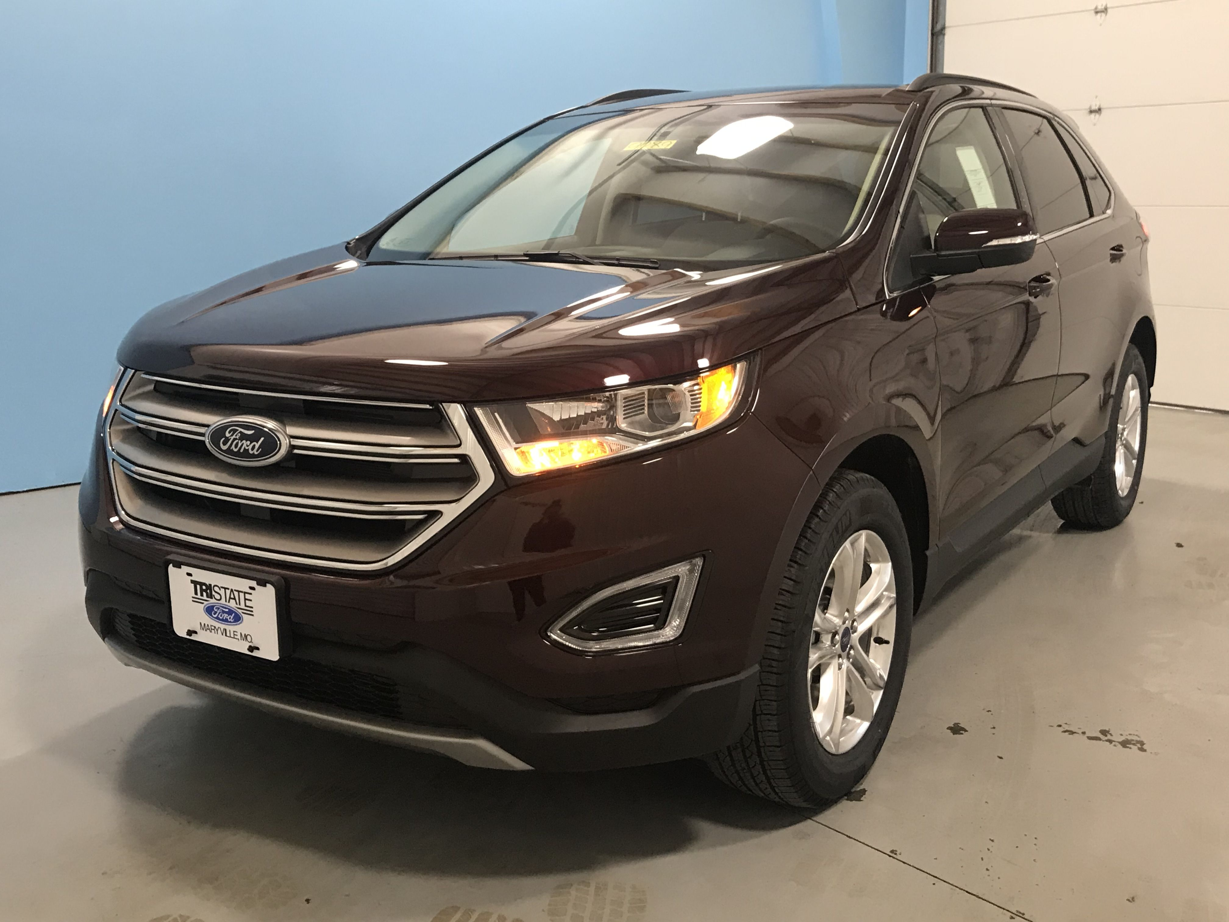 Ford Edge Sel Crossover Twin Scroll Ecoboost Leather Interior Backup Camera
