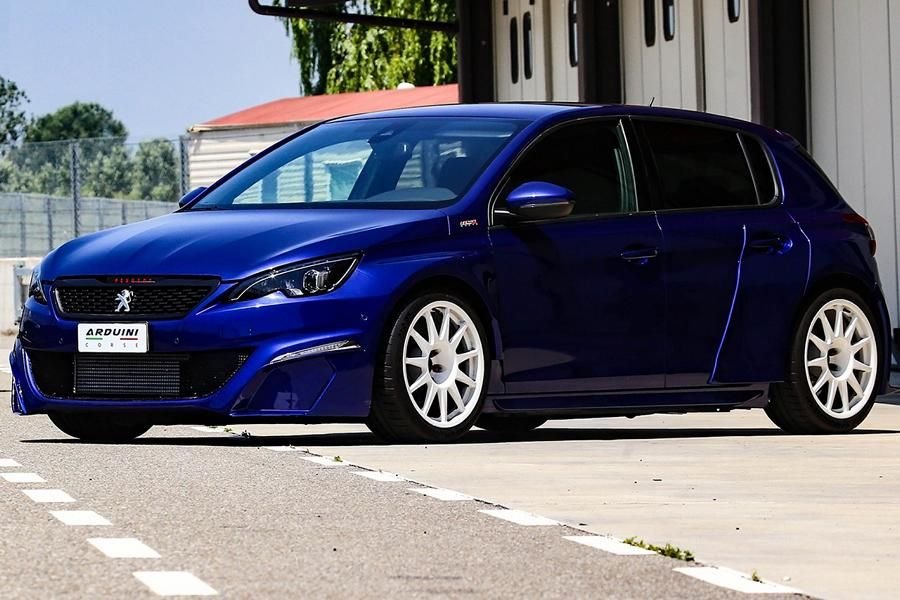 Single Piece Peugeot 308 Gti Widebody By Arduini Massimo