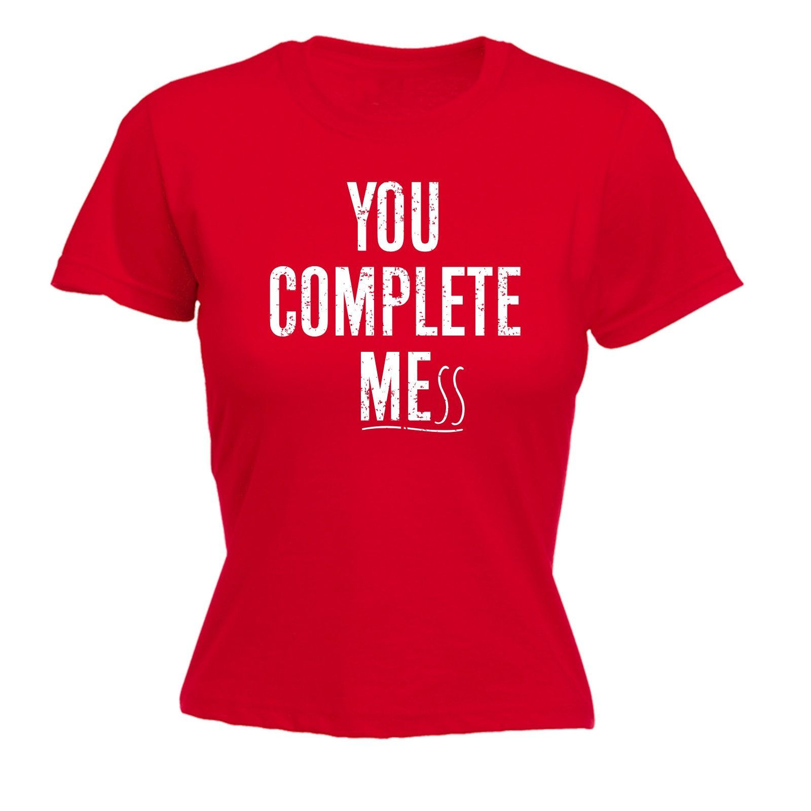 Offensive Quotes 123T Usa Women's You Complete Me Ss Funny Tshirt  Offensive