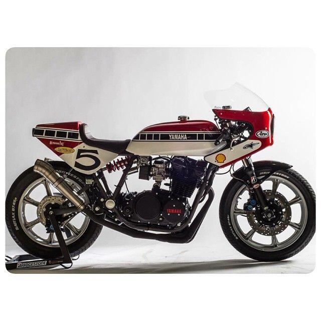 Yamaha Xs850 Vintage Cafe Racer Yamaha Bikes Cafe Racer Motorcycle Bike Exif