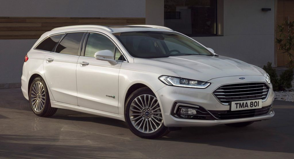 2020 Ford Mondeo Facelift Unveiled With Wagon Hybrid Variant