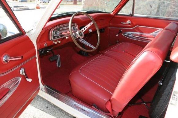 interior of my 1964 ford falcon ranchero