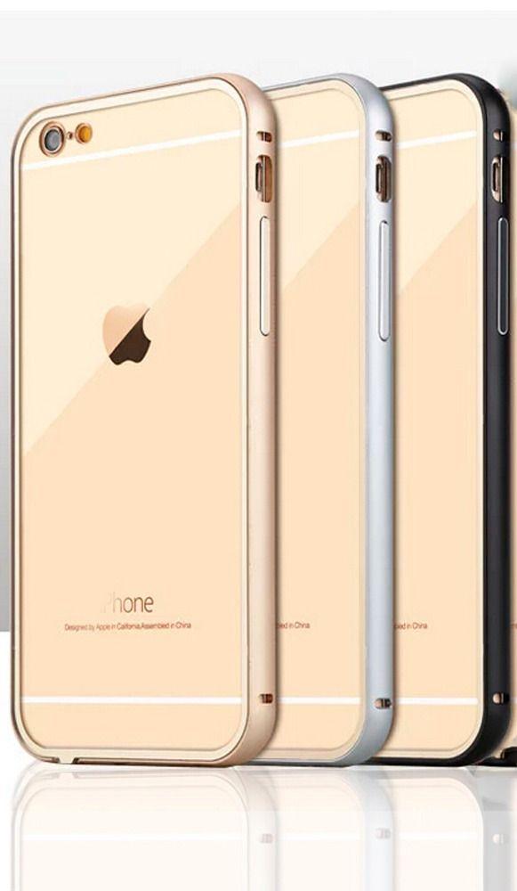 funda de lujo crystal clear iphone 6 y iphone 6 plus