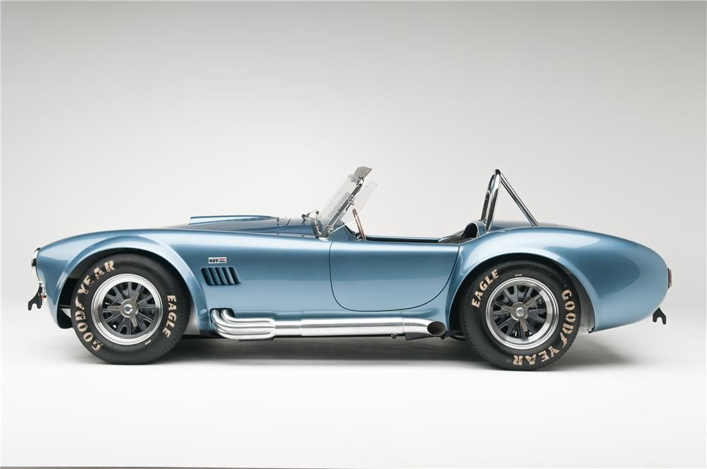 1965 Shelby Cobra Csx 6000 Roadster Side Profile 137665