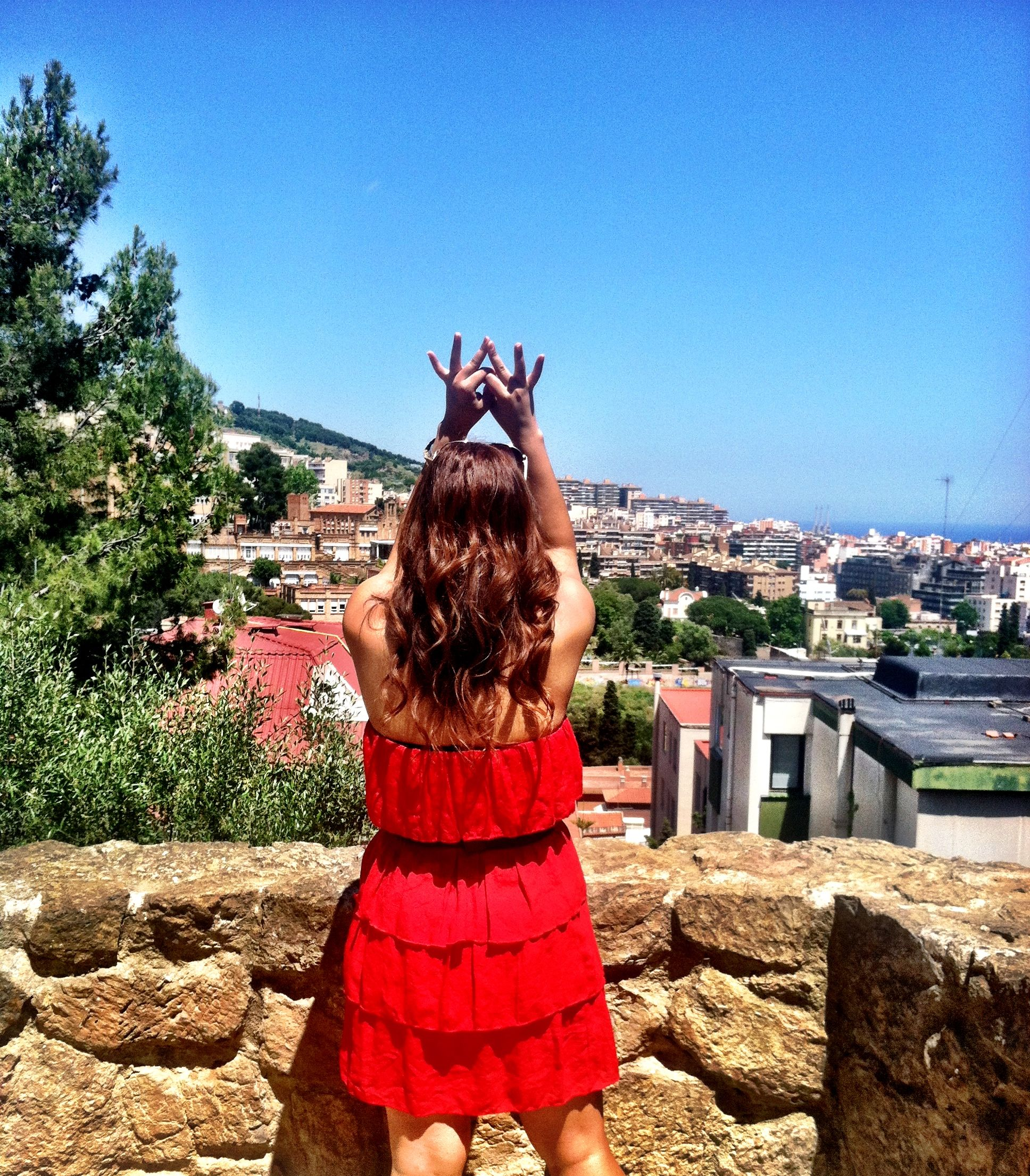 Throw what you know! #Barcelona #Spain #ZTA #Zeta #ZetaTauAlpha #Greek #Europe