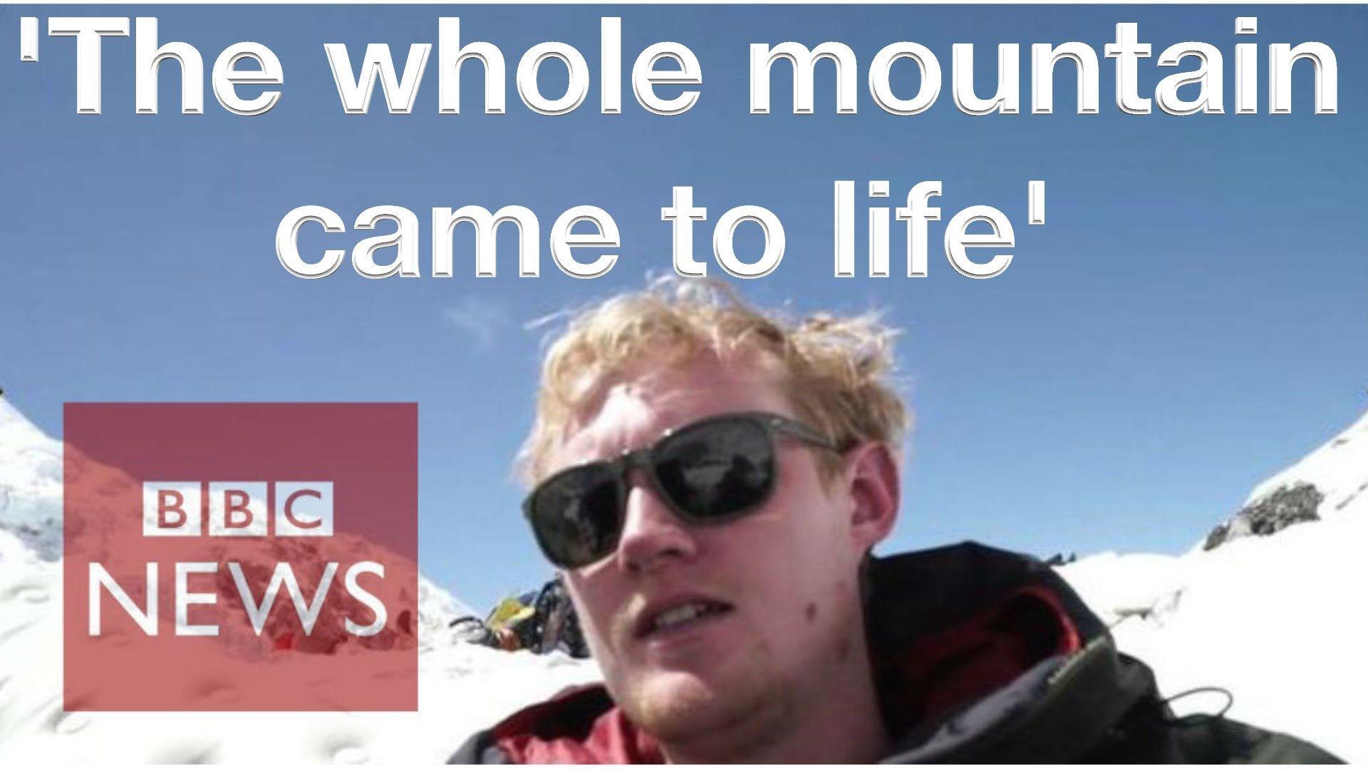 Nepal Earthquake BBC journalist on Everest when quake hit