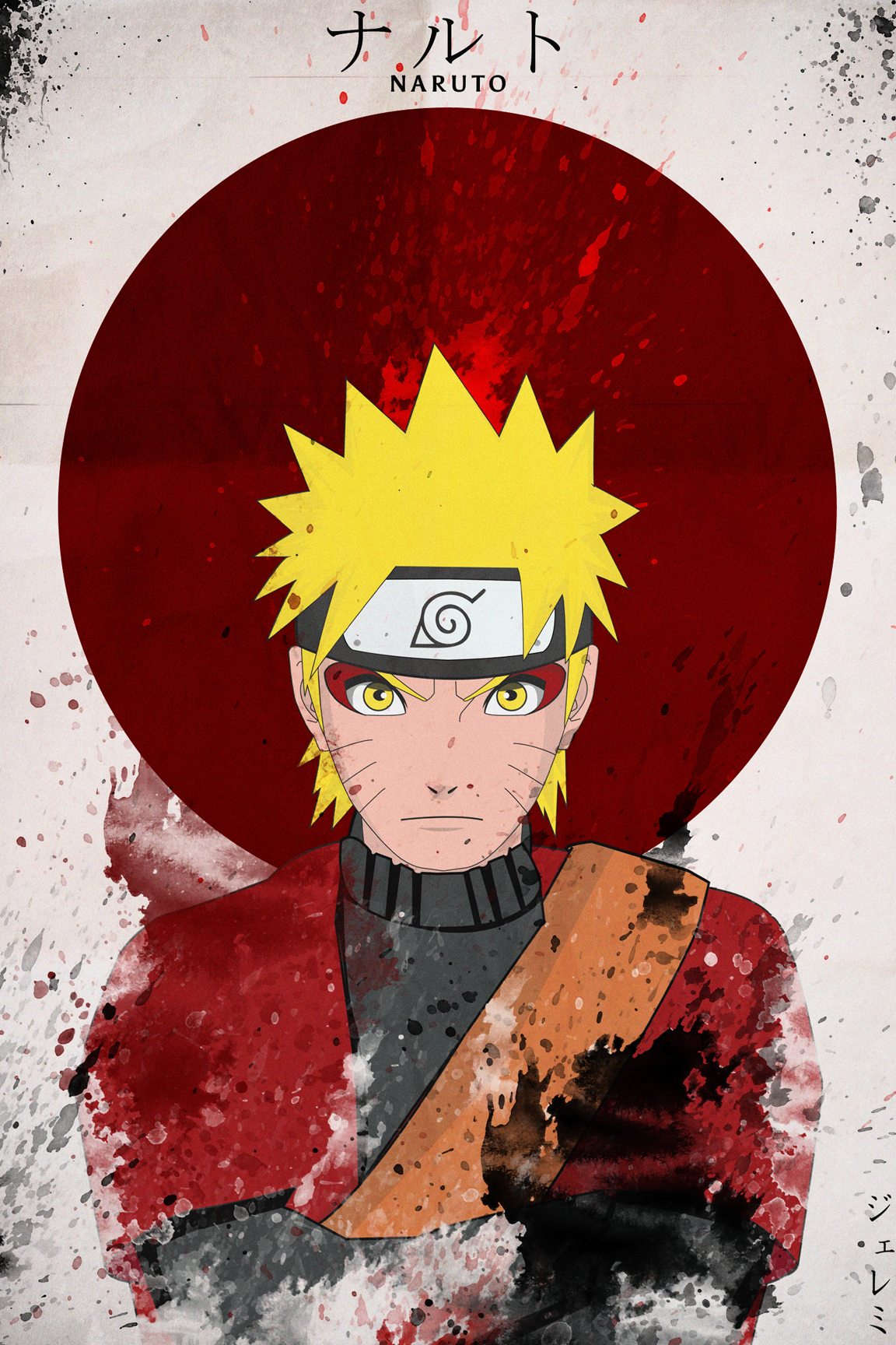 naruto,poster, best poster, anime poster Personagens de