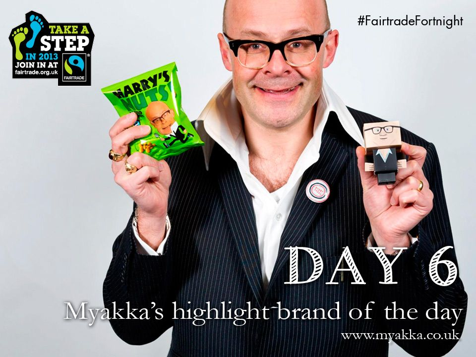 Day 6 - #HarryHill's NUTS! #FairtradeFortnight DAY 6 - Saturday! And we welcome Harry's Nuts to our Highlight Brand of the DAY! Yes.... Harry Hill makes no money from this project for himself - helping farmers in Malawi - The nuts and delicious peanut butter will be appearing in our hamper giveaway next week, and also available in Sainsbury's, Waitrose, The Co-operative and Oxfam too
