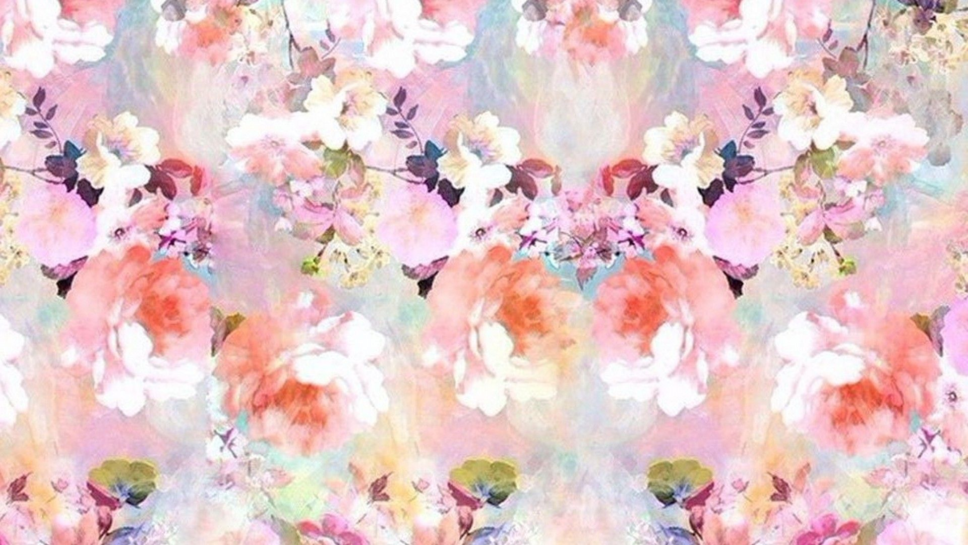 Pin By Flip Wallpapers Desktop On Art Watercolor Flower Background Hd Cute Wallpapers Rose Gold Backgrounds
