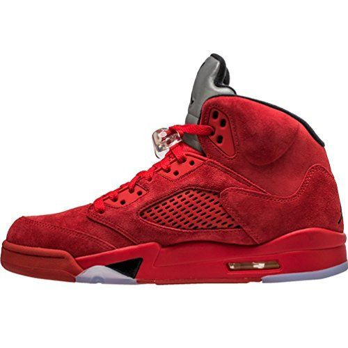 Nike Men's Air Jordan 5 Retro University RedBlack