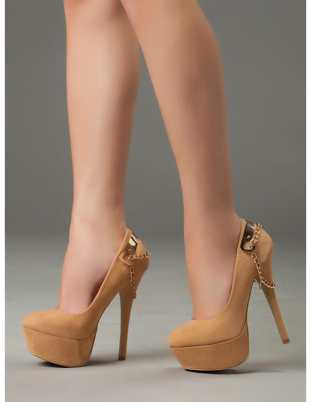 Zapatos Camel Tacon Alto Plataforma Sexy  dacb6c2a882d