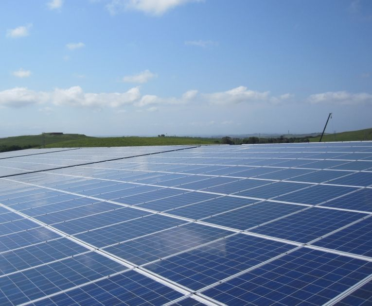 Biggest solar installation on one roof in Africa! The