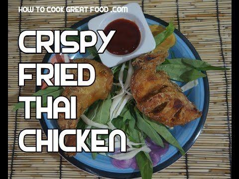 Great crispy thai fried chicken recipe kfc with a asian flavour food great crispy thai fried chicken recipe forumfinder Image collections