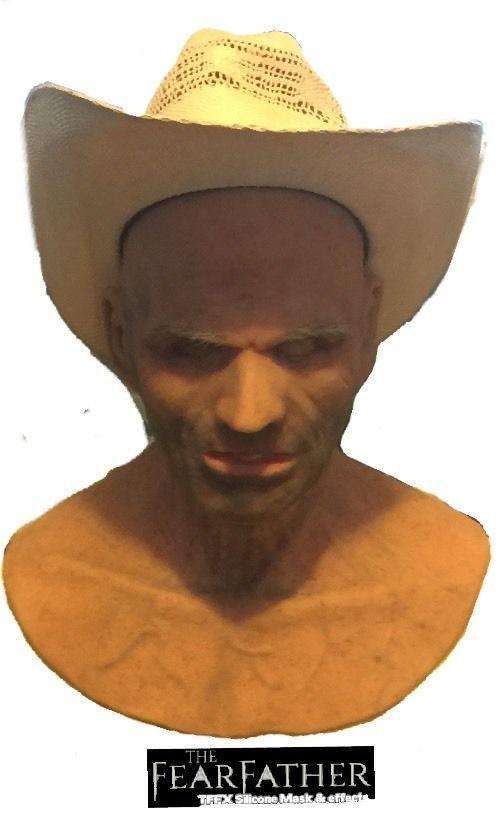 tffx cowboy silicone halloween mask - Premium Halloween Masks