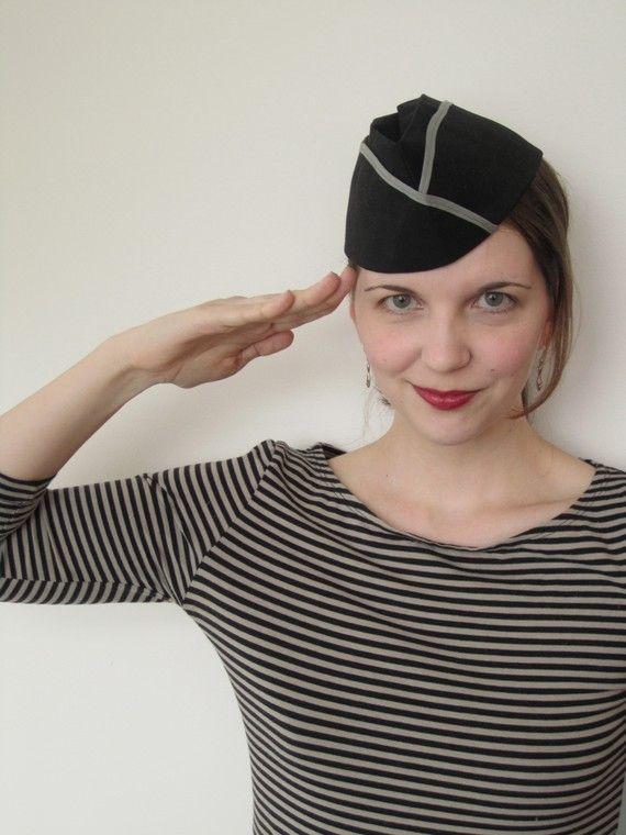 b71da81ea999b Vintage Sewing WWII Era Flight Cap Pattern