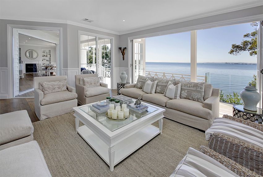 The piece de resistance of many of our hampton style homes for Hamptons beach house interiors