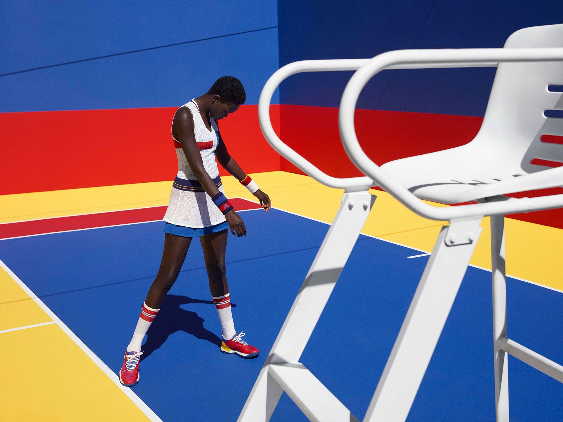 low priced 19867 ec099 Viviane Sassen  Adidas Tennis by Pharrell Williams