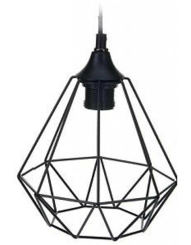 Draadlamp, diamond - Stoer Metaal