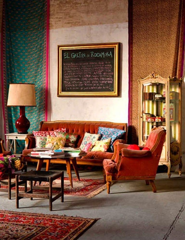 Classy Bohemian Living Room 25 Awesome Bohemian