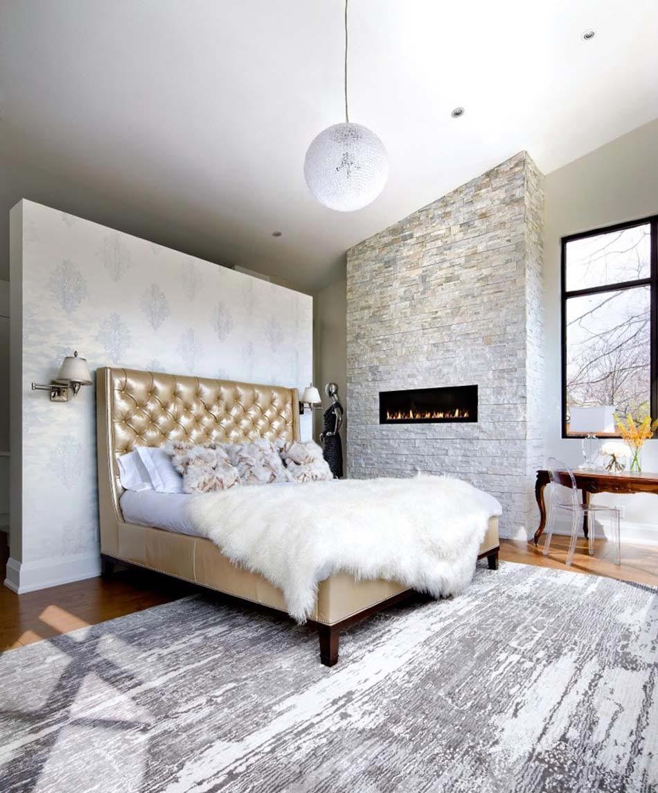 12 exemples d'une belle chambre avec cheminée aux ambiances ...