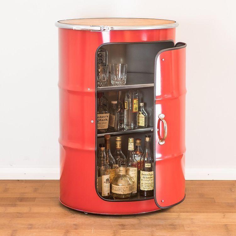 Pin By Trey Campo On Ideas Barril Barrel Furniture Barrel Bar Outdoor Kitchen Bars